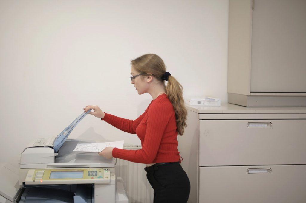 servicing office equipment in Charlotte North Carolina