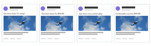 testing multiple Facebook ads for performance